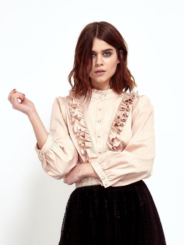 Ella Catliff - Sister Jane Frill Collar Blouse, Urban