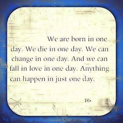 één dag