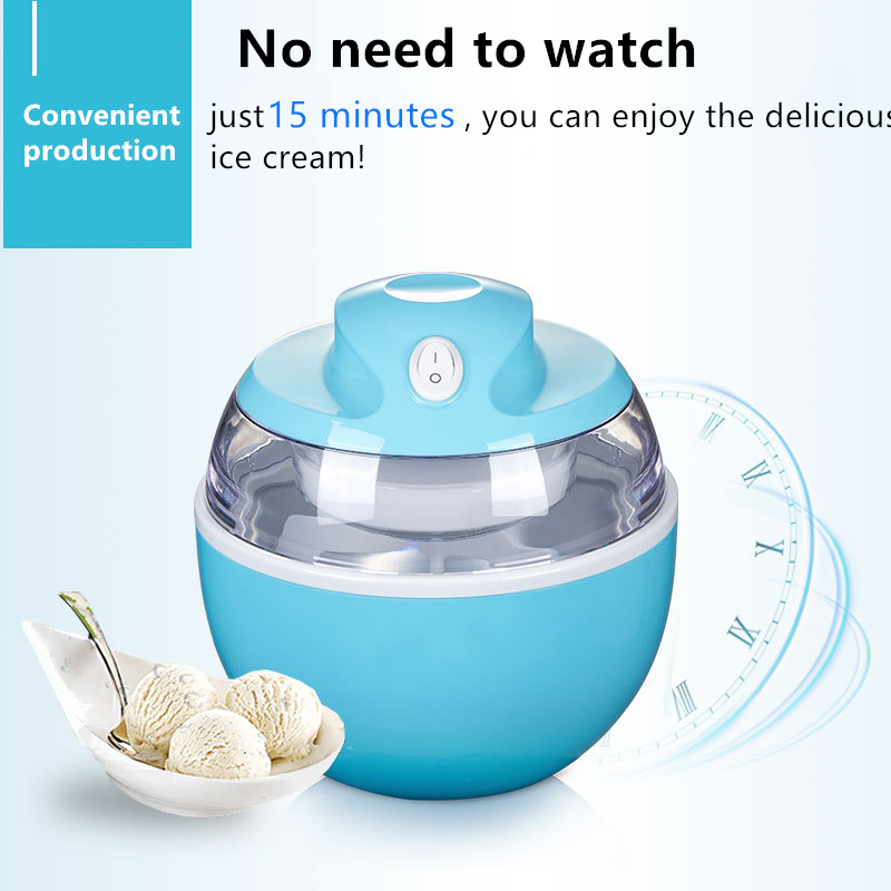 Ice Cream Machine Portable Yogurt Machine Dual Use Easy To Operate Home 220v High Quality Automatic Ice Cream Maker Alsupersales Ice Cream Machine Ice Cream Maker Ice Cream Maker Machine