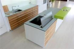 Küche im Materialkontrast » Häfele Functionality World
