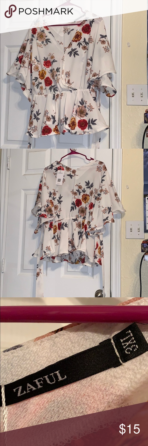 ca6cdb73439 Brand new flowy 3XL flower top. From one of those Chinese sites like ...