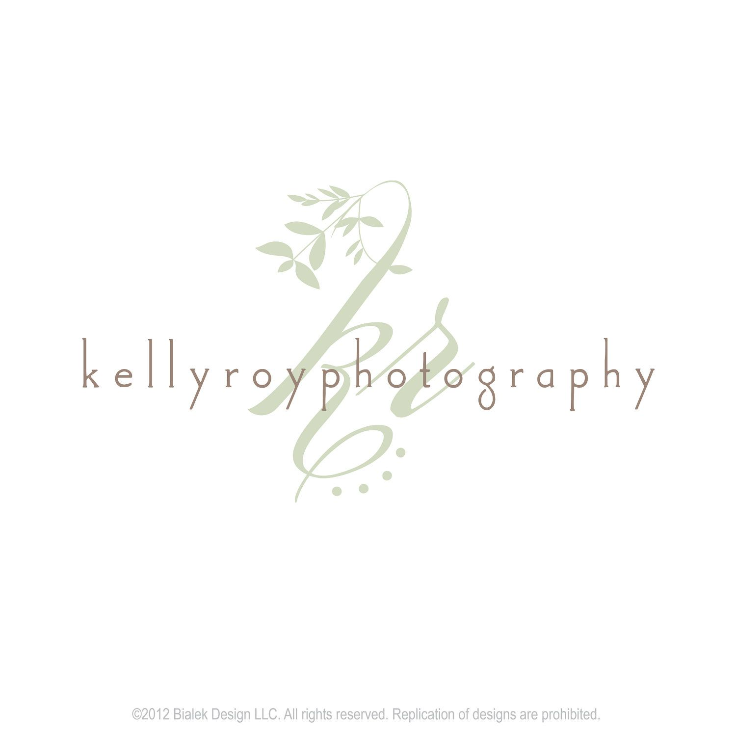 Photography Logo Package - Custom Business Logo - Includes Watermark ...