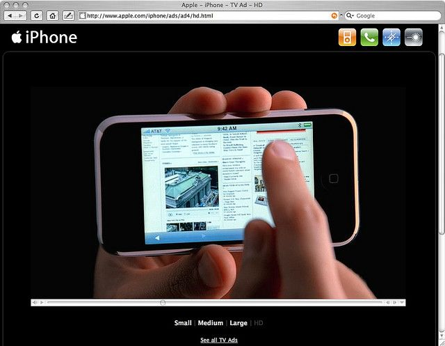 iPhone... browser supports flash?     I must admit, I'm actually an apple fanatic. I found this place where I got to test and keep an ipad and iphone, it's cool, check it out...