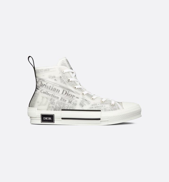Dior shoes, High top sneakers