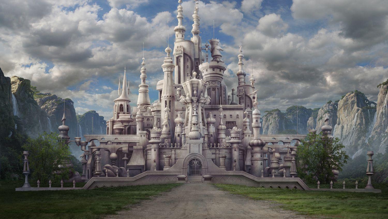 Risultati immagini per white queen castle alice in wonderland
