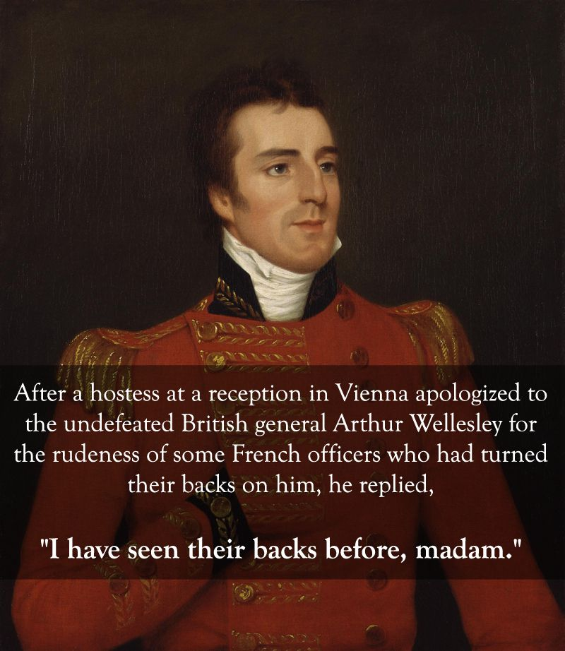 General Arthur Wellesley vs. the French military: