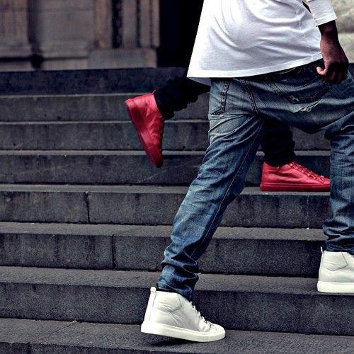 street style homie, sneaker