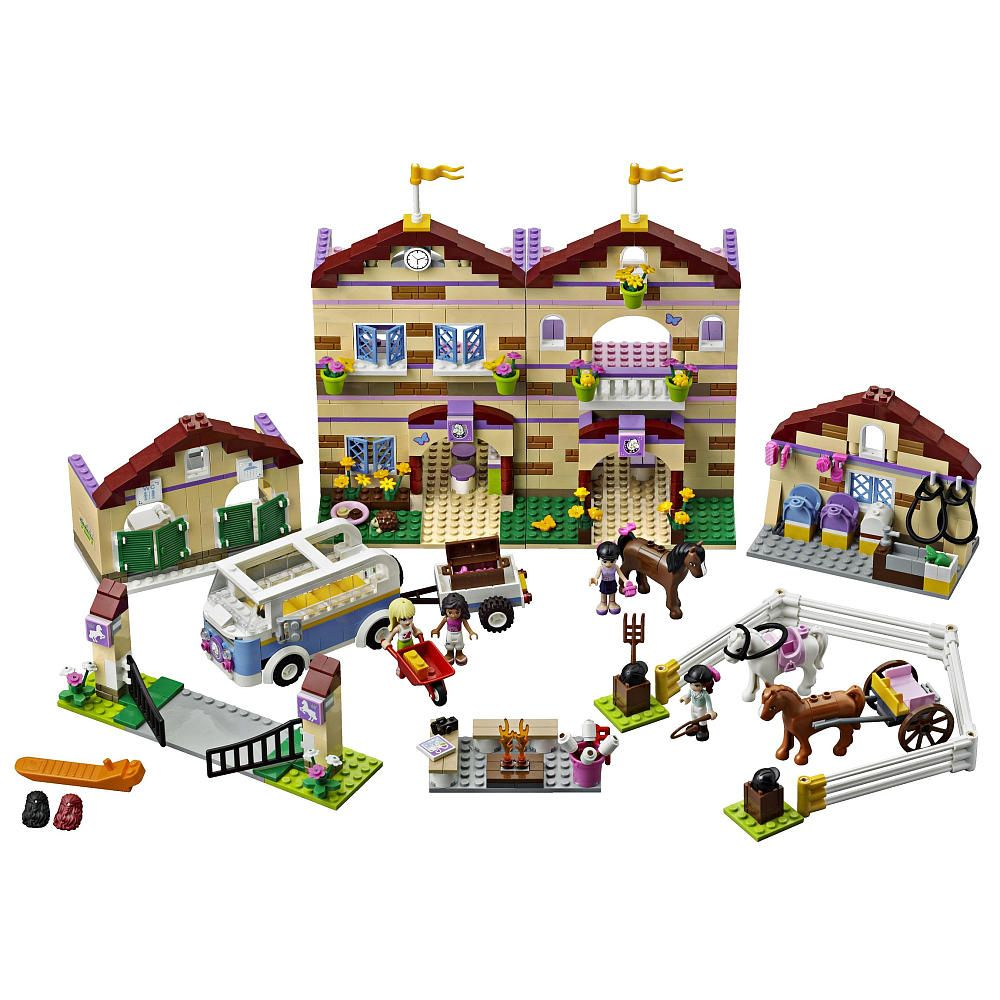 Lego Friends Summer Riding Camp 3185 Lego Friends Lego Friends Sets Lego House