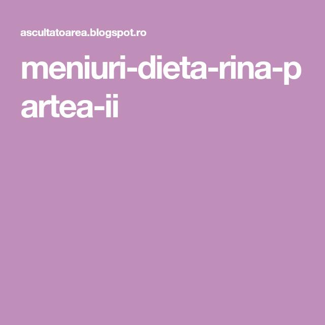 dieta rina personalizata slabire forever living