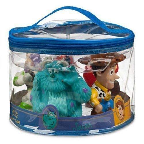 Disney Parks Pixar 5 Character Bath Toy Set Toys Pinterest Characters And Pool