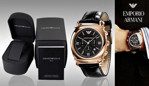 Latest Emporio Armani Watches For Men | Watches | Armani ...