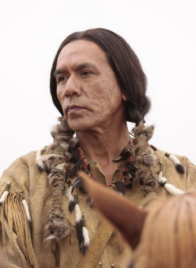 Native man