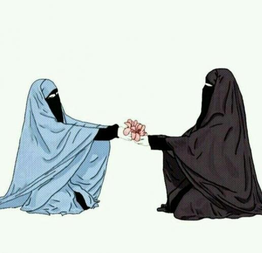 hijab hijab drawing in 2020 Anime muslim, Hijab