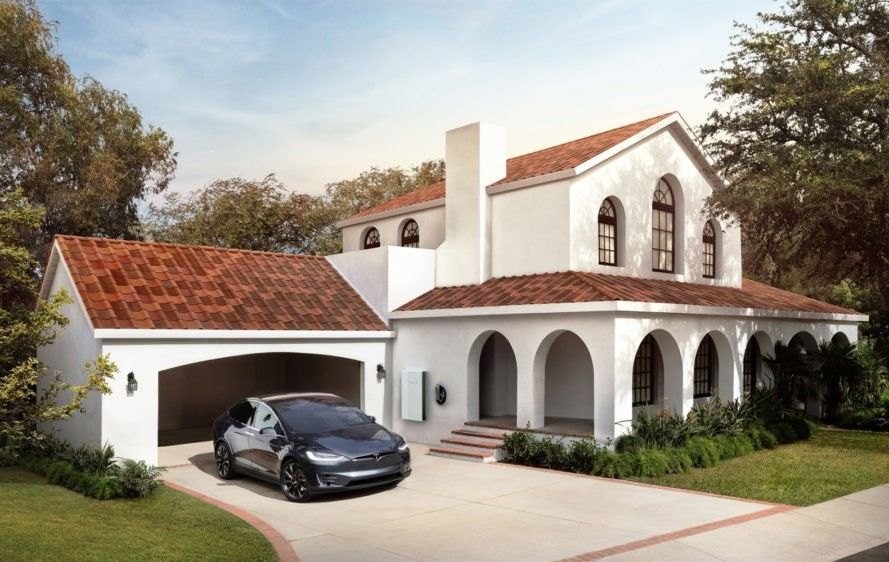 Tesla S New Solar Roof Is Actually Cheaper Than A Normal Roof Solar Roof Tesla Solar Roof Solar Shingles
