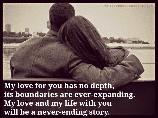 Heartfelt Quotes My Love For You Love Quotes For Her Inspirational Quotes Collection Inspirational Quotes With Images