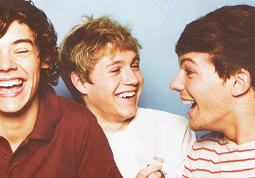 Harry, Niall, and Louis(: