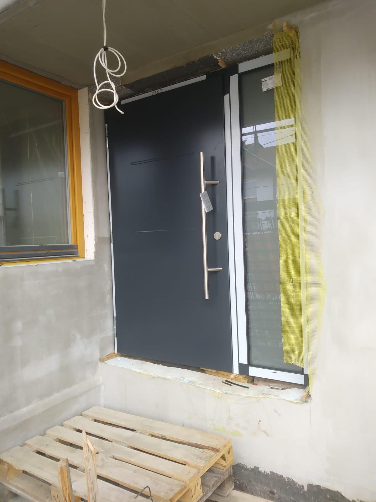 Montaż drzwi Thermo 46, wzór. 515