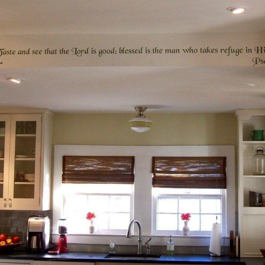 Ideas For Decorating Kitchen Soffit Kitchen Decor Kitchen