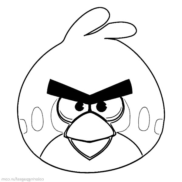 Leader Of Angry Bird Coloring Pages Best Place To Color Bird Coloring Pages Coloring Pages Red Angry Bird