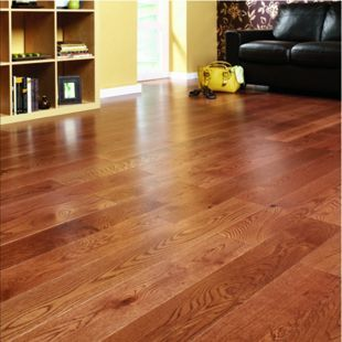 Wickes Butterscotch Oak Real Wood Top Layer Engineered Wood Flooring ...