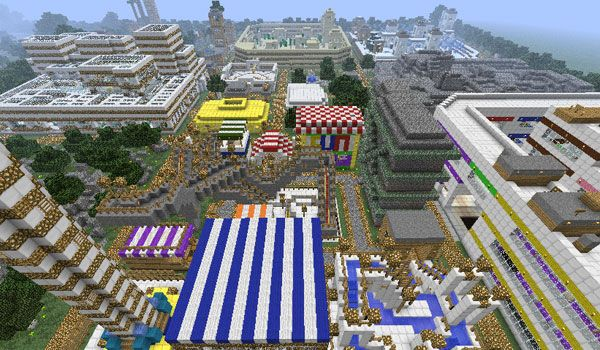 T3C Parkour Map para Minecraft 1.3.2