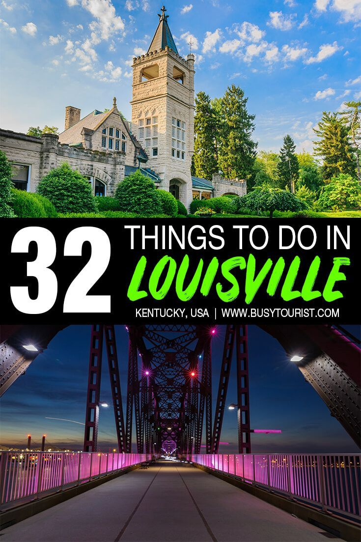 Wondering what to do in Louisville, KY? This travel guide will show you the top attractions, best activities, places to visit & fun things to do in Louisville, Kentucky. Start planning your itinerary and bucket list now! #Louisville #Kentucky #usatravel #usatrip #usaroadtrip #travelusa #travelunitedstates #ustravel #ustraveldestinations #americatravel #vacationusa