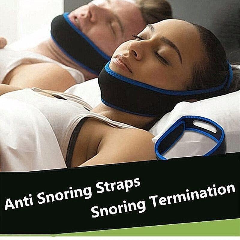 Anti snore chin strap stop snoring belt sleep apnea chin
