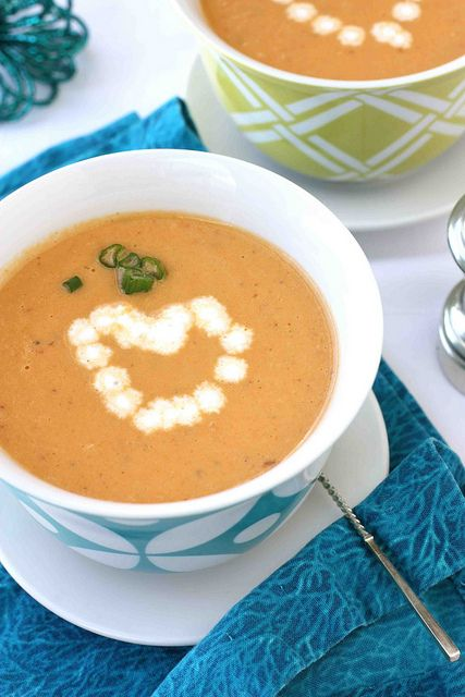 Silky Shrimp Bisque Recipe with Sherry for Valentine's Day by CookinCanuck, via Flickr