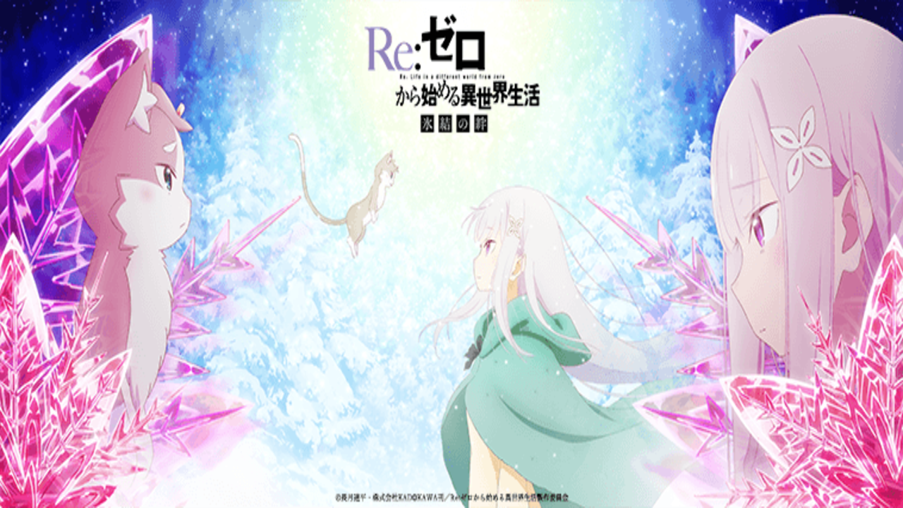 Re Zero Animes Official Website Released A Second Special Video On Sunday For The Up And Coming Re Zero Hyōketsu No Kiz Anime Anime Release Dates Anime Release