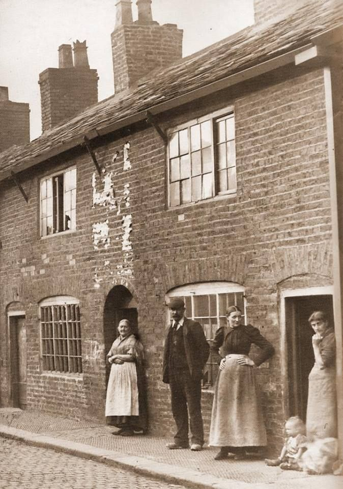1904 Residents Oliver Street Off Winwick Street Warrington
