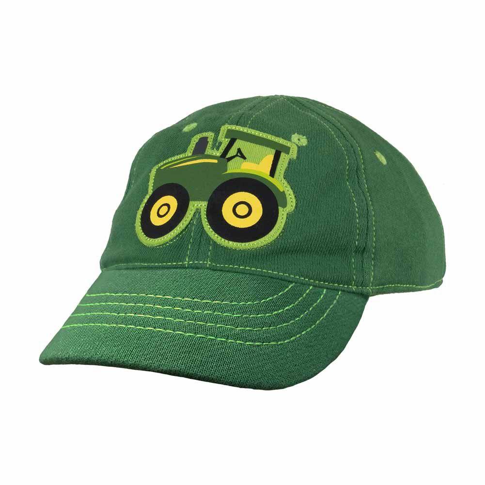 aaf8883ce53 John Deere Tractor Knit Infant Baseball Cap