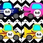 Multiplication Crash Math Facts Game
