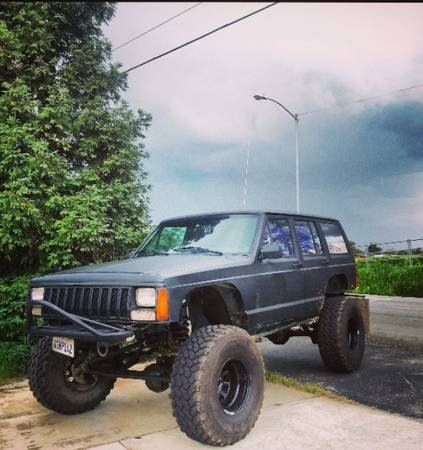 Jeep Xj 8 Inch Long Arm Lift 35 S Jeep Xj Jeep Jeep Xj Mods