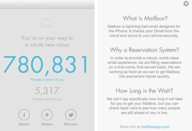 The UX Thinking Behind Mailbox's 800,000-Person Waiting List | Email design, It matters to me, Design thinking