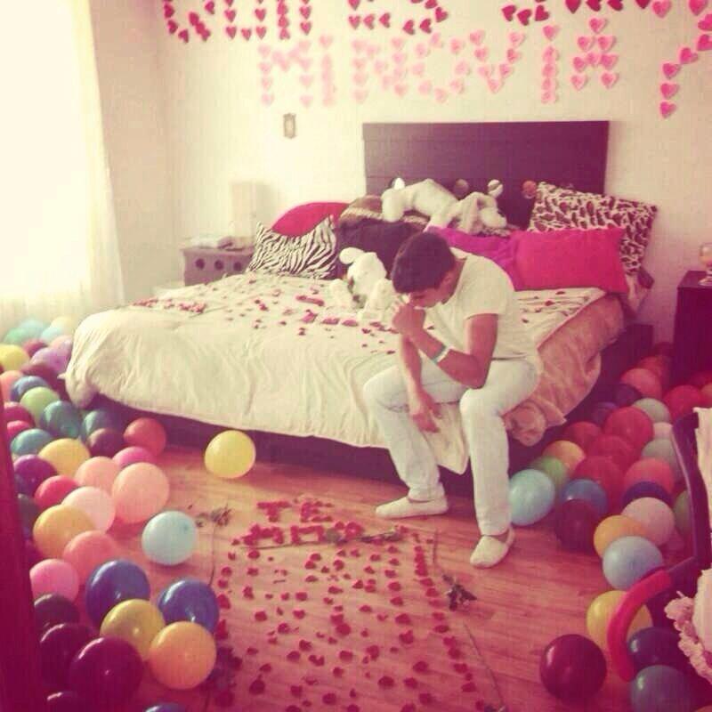 Sorpresa ideas propuesta de noviazgo creatividad for Detalles para decorar mi cuarto