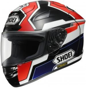here s a new treat from renowned motorcycle helmet manufacturer shoei sport riders and motogp fans will surely welcome the x spirit ii replica marc marquez