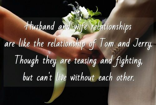 Husband Wife Relationship Quotes Mehandi Designs Love Quotes