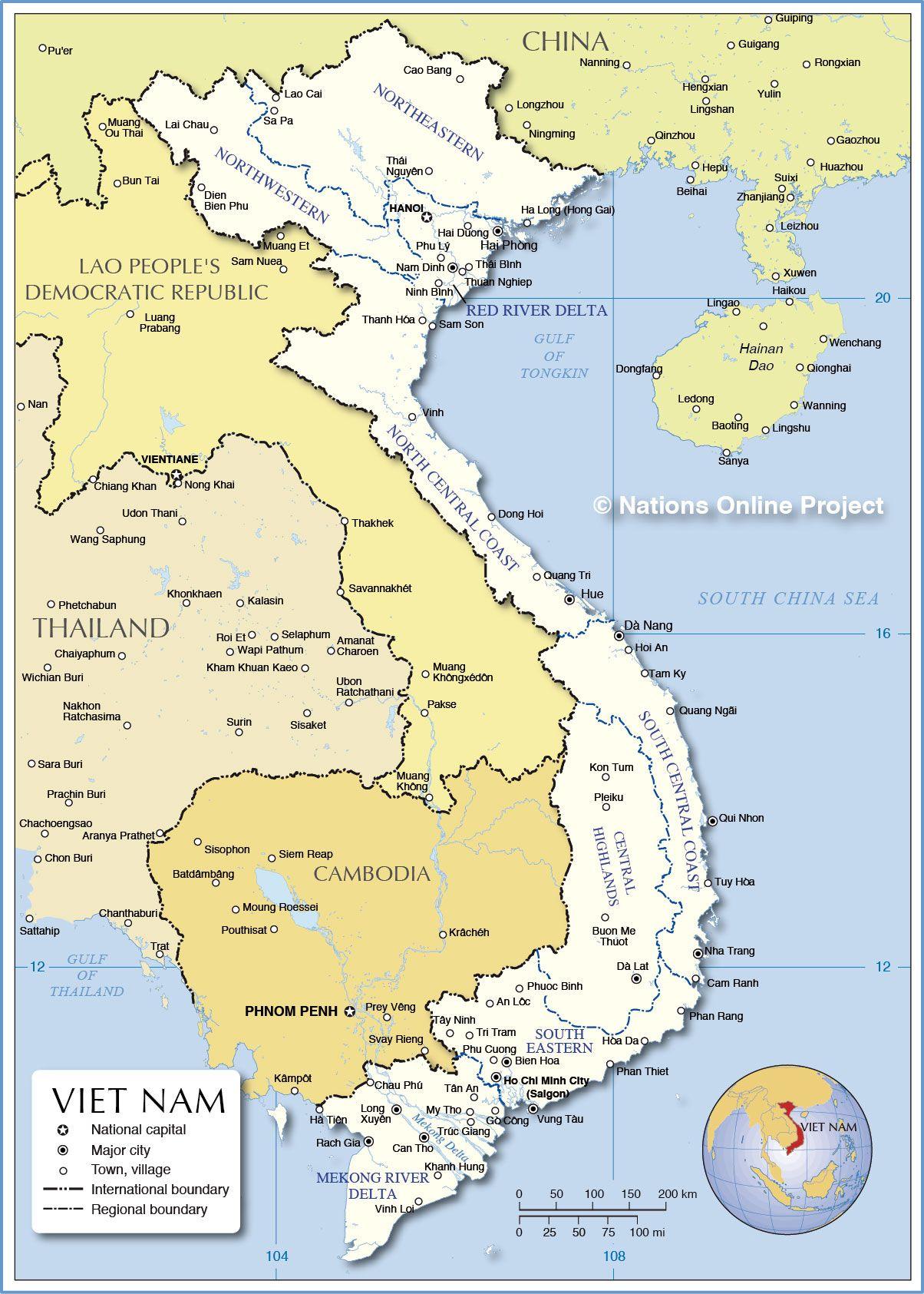 Map Of Vietnam Vietnam Pinterest South Vietnam And Vietnam - Rivers of vietnam map