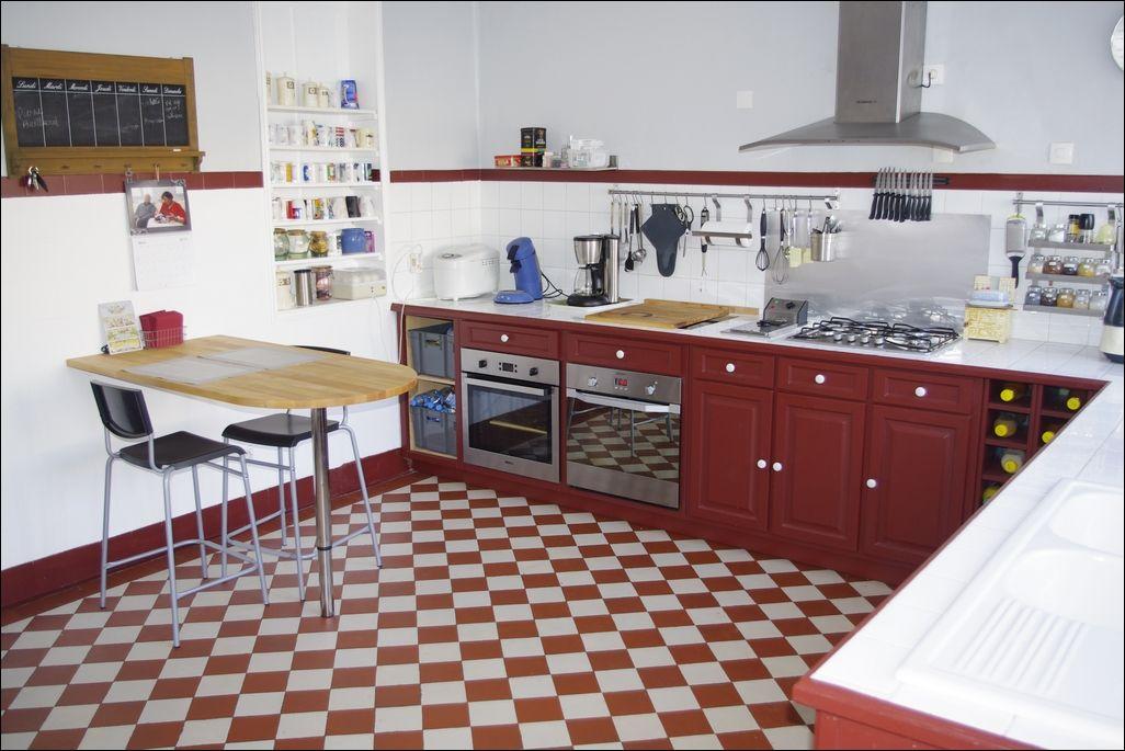 cuisine cuisine rouge decoration