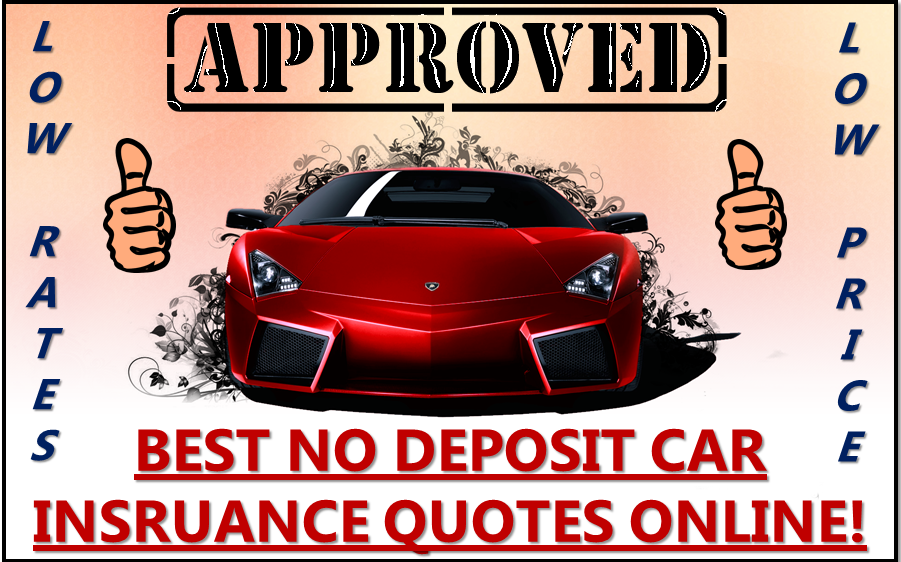 Car Insurance Quotes Online New No Deposit Car Insurance Online  Car Insurance Quotes  Pinterest .