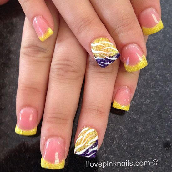 15 Cool Nail Art Designs: 15 Cool & Easy Summer Nail Designs & Ideas For Girls 2013