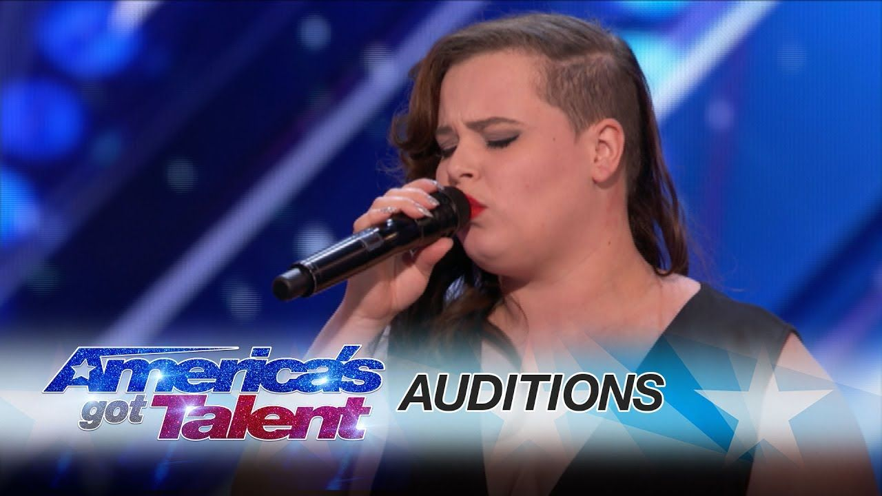 Americas got talent 2017 science guy - Yoli Mayor Singer Delivers Her Version Of Ed Sheeran S Make It Rain America S Got Talent 2017