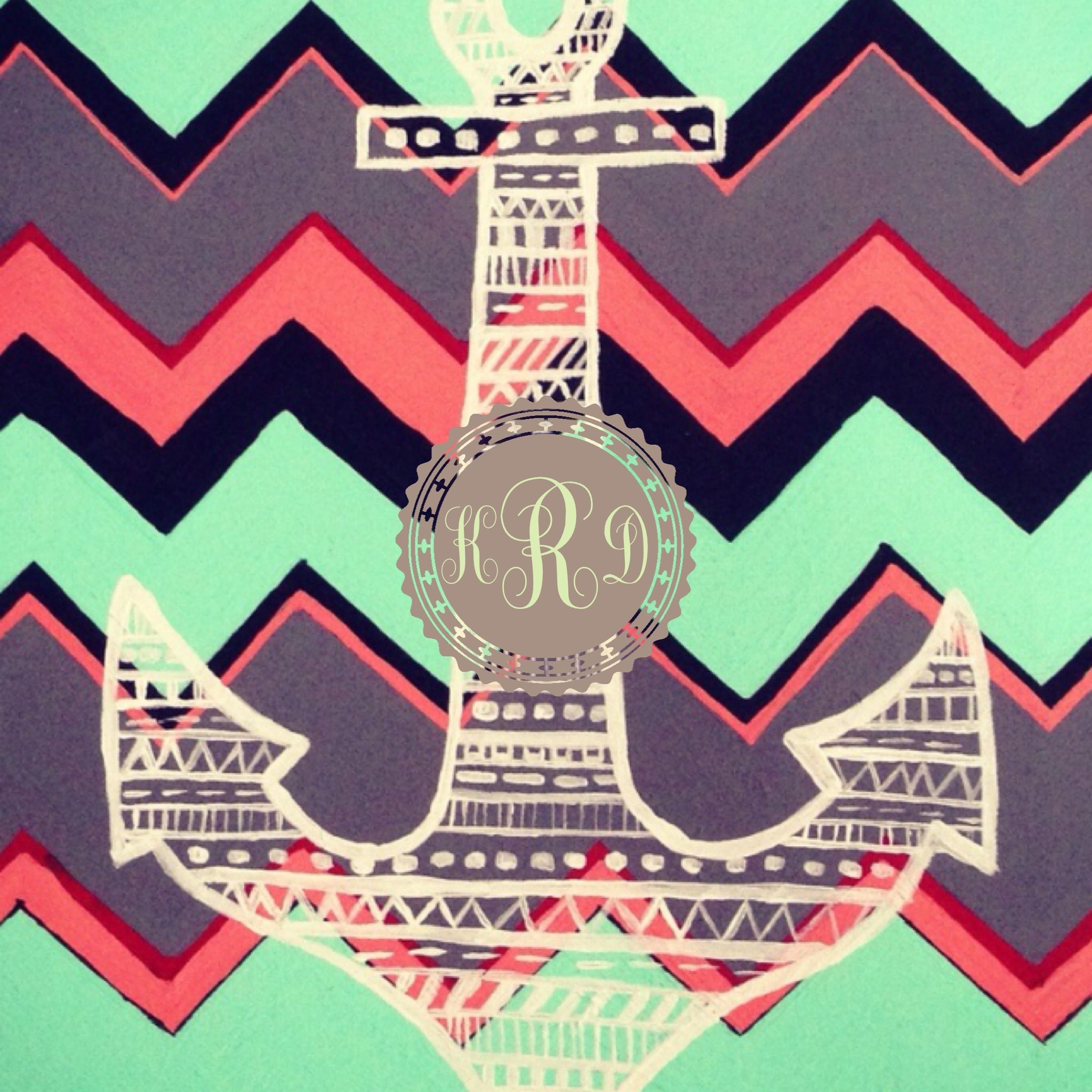monogram custom wallpaper app found at the app store for iphones