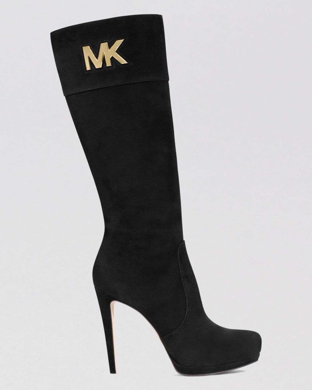 michael kors high heel ankle boots