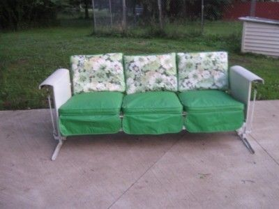 This Is A Nice Vintage Metal Porch Glider From The 50 S Or 60 S