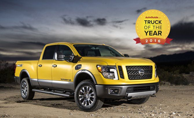 2016 Nissan An Xd Wins Autoguide Truck Of The Year Award