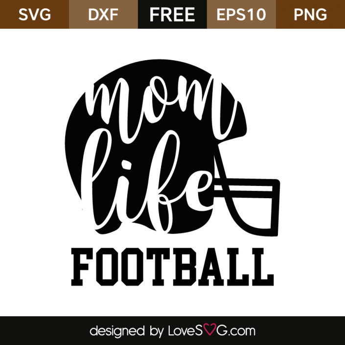 Mom Life Football Football design, Football mom shirts