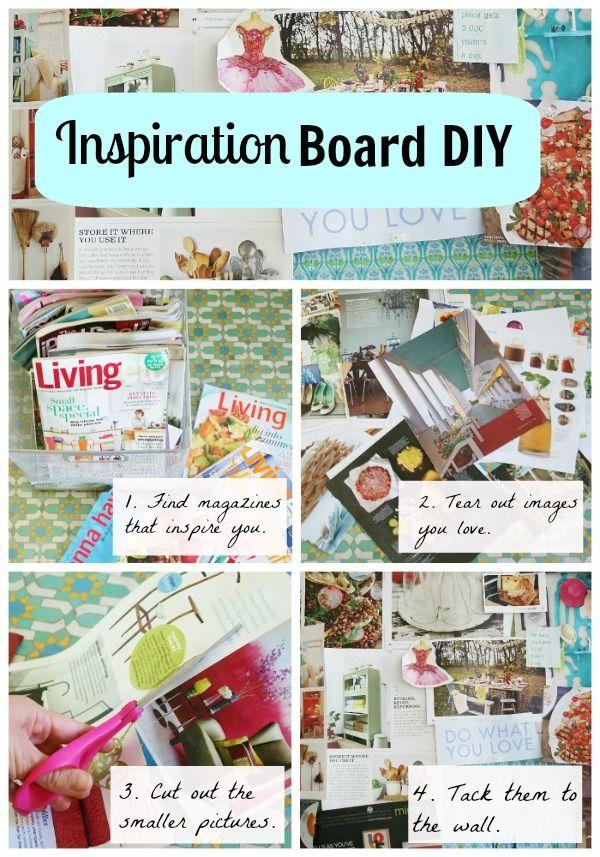 inspiration board diy