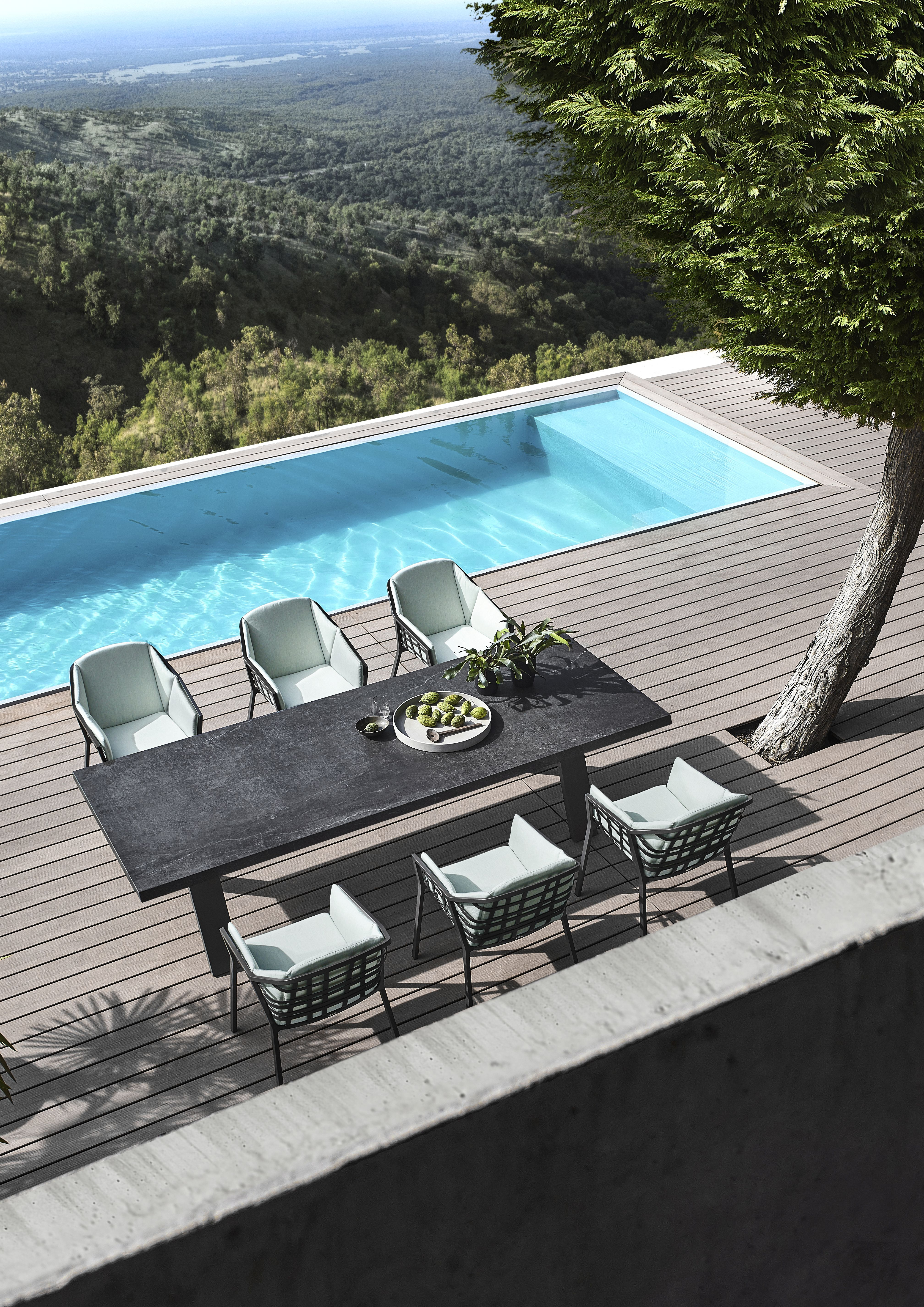 Solpuri Basket Solpuri Pool Traumgarten Gartentisch Gartenmobel Lounge Mobel