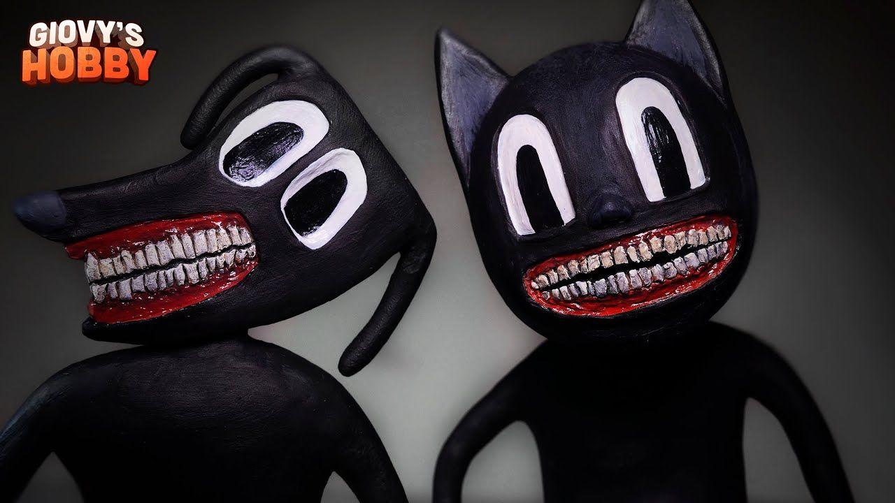 Cartoon Cat Cartoon Dog Trevor Henderson Creatures Polymer Clay Tu Cartoon Dog Cartoon Cat Cartoon Cat Drawing